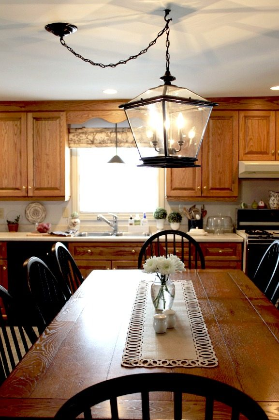 farmhouse style kitchen lighting farmhouse lighting in the kitchen the creek line house 7167