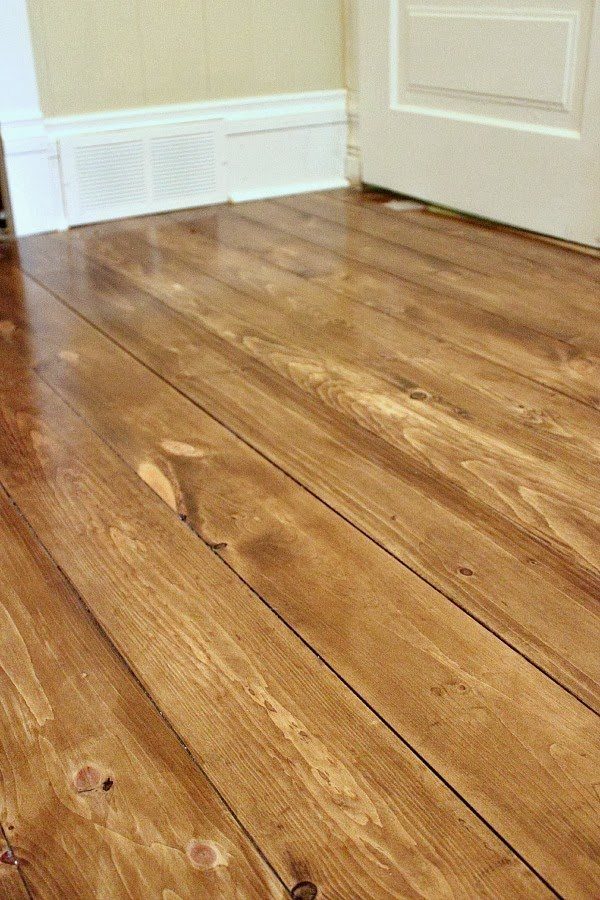 How to clean unfinished wood floors before staining home for How to clean floor stains