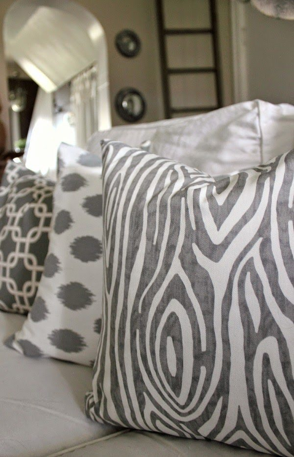 the 10 minute diy pillow cover | the creek line house Diy Throw Pillow Covers