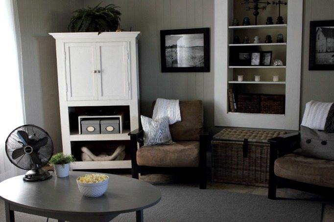 what color should you paint your living room grey living room before and after complete ish paint 28140