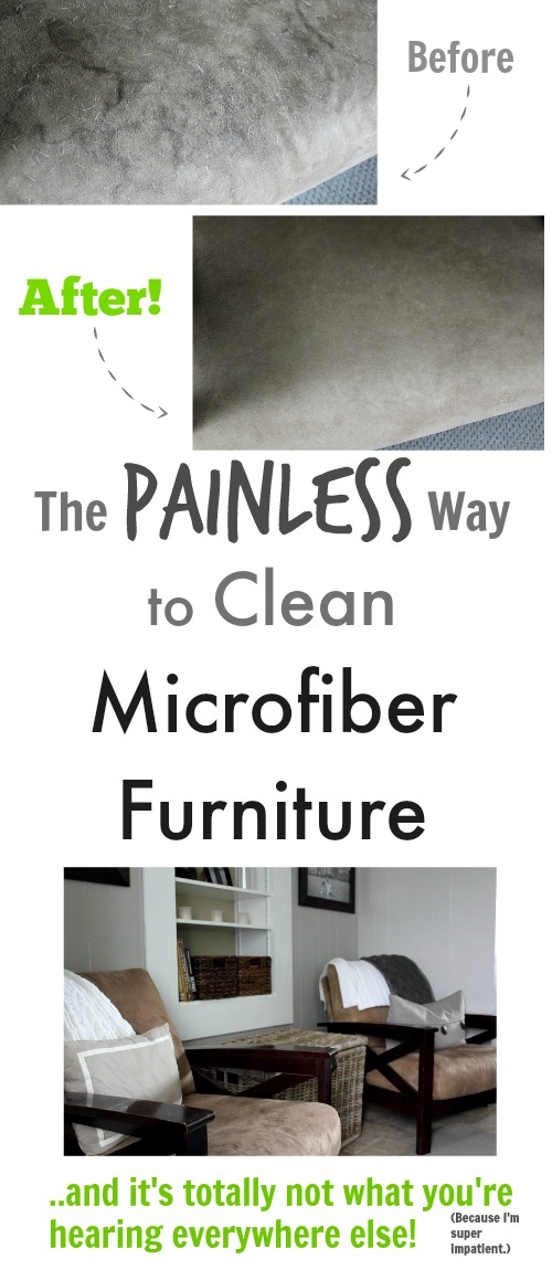 The Painless Way To Clean Microfiber Furniture Creek
