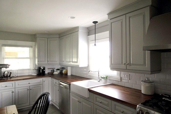update old kitchen cabinets updating our kitchen cabinets with new mouldings the 6676